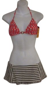 Tory Burch Tory Burch Kerala Orange Hamadri Swim Traingle Ring Bikini Top XL NWT $95