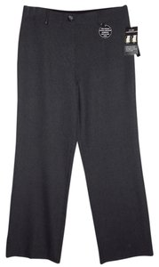 Counterparts Straight Pants Charcoal /Blue Striped