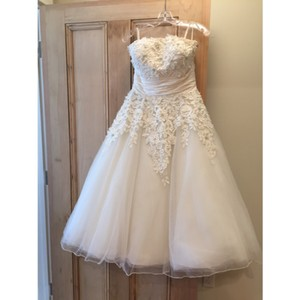 Justin Alexander Justin Alexander #8465 Ivory Wedding Dress