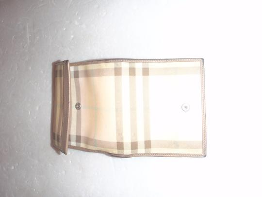 Burberry Burberry plaid Wallet small