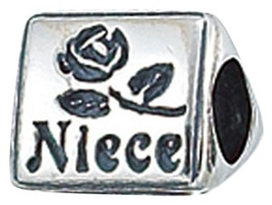 Zable ZABLE Niece 925 Sterling Silver Bead Charm