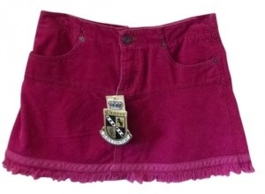 Juicy Couture Mini Skirt raspberry purple pink