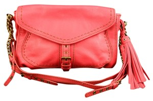 Isabella Fiore Heritage Coral Leather New Cross Body Bag