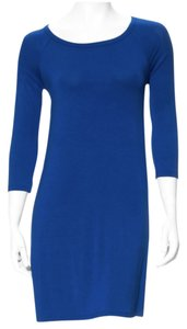 Susana Monaco short dress Sapphire on Tradesy
