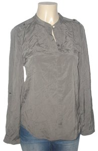 Ann Taylor Top Gray