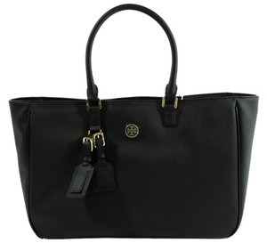 Tory Burch Roslyn Leather Handbag Handbag Rosyn Tote in Black
