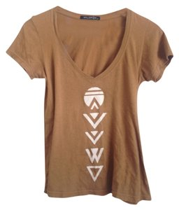 Wildfox T Shirt Rust