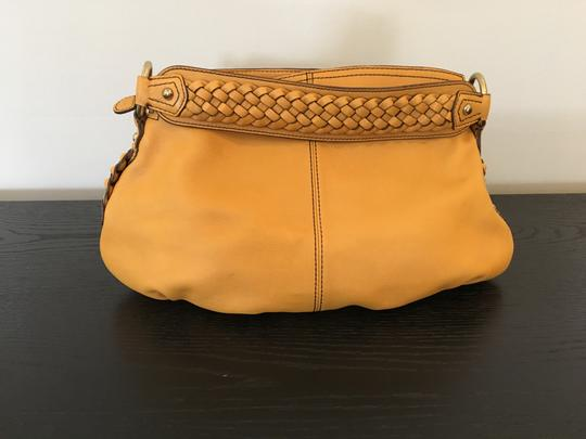 Banana Republic Leather Braided Brass Detail Shoulder Bag Image 2