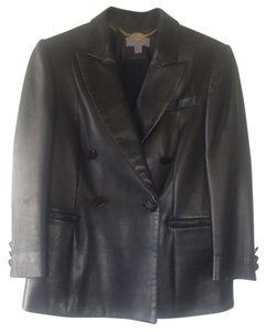 Mulberry Blac Leather Jacket