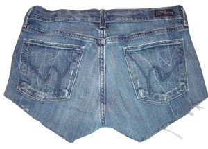Citizens of Humanity Cut Off Denim Shorts-Distressed
