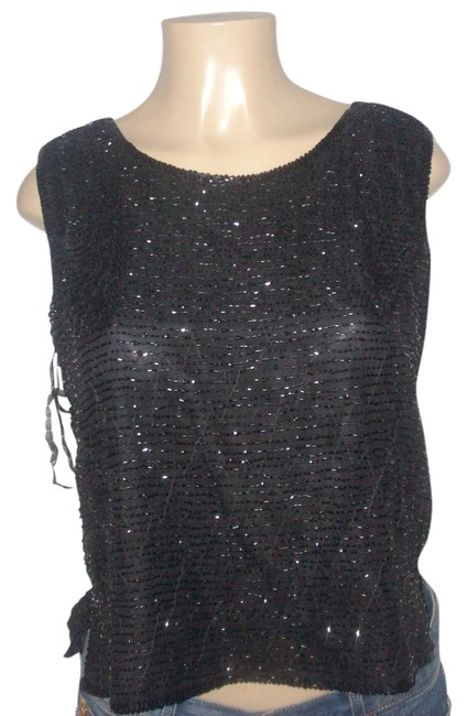 Preload https://img-static.tradesy.com/item/7669021/black-new-with-tgas-silk-stones-beaded-fully-lined-sleeveless-cami-xl-blouse-size-18-xl-plus-0x-0-0-650-650.jpg