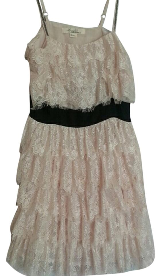 4c03a2061ed5 Forever 21 Blush Knee Length Night Out Dress Size Petite 2 (XS ...