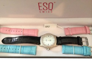 ESQ Swiss ESQ Swiss Watch with Diamond accents
