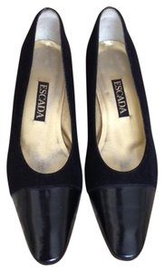Escada Black Suede Pumps