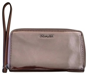 Coach Wristlet in Rose Gold