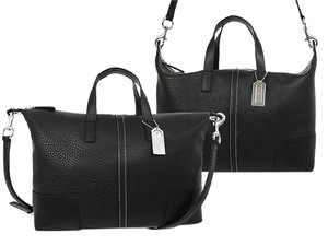 Coach F31663 Satchel in Black