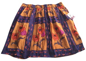 Anthropologie Skirt Multi colored