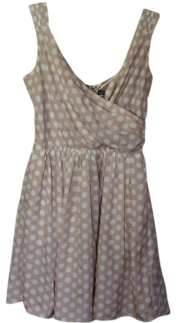 Express short dress Beige/Ivory on Tradesy