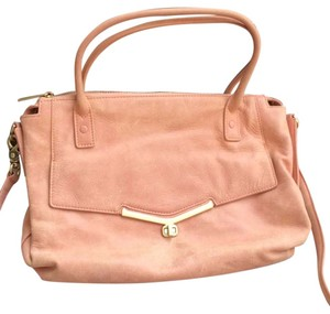 Botkier Valentina Pink Satchel in Dusty Pink