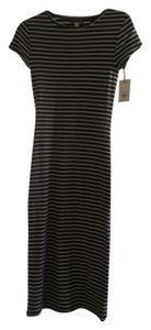 Black and white stripe Maxi Dress by Billabong