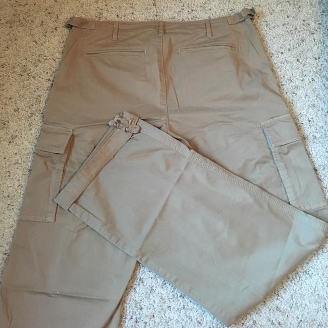 Tory Burch Cargo Pants Khaki