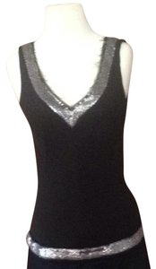 J.Crew Top Black and silver