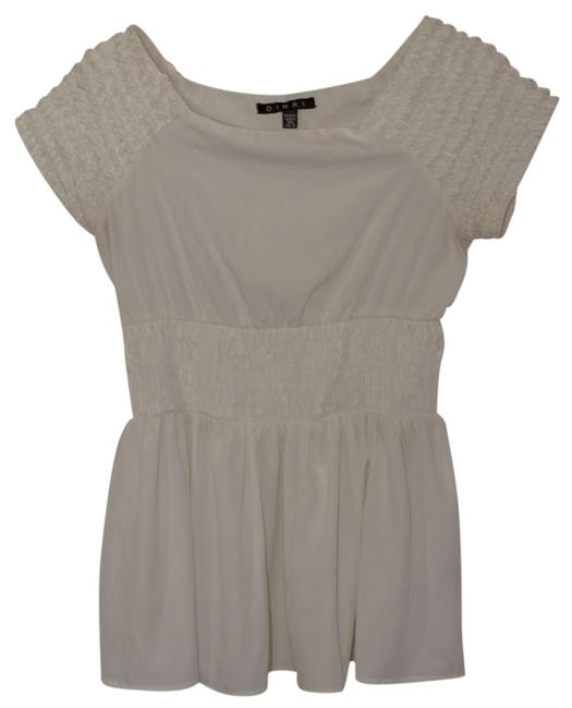 Preload https://item2.tradesy.com/images/dimri-white-tunic-size-8-m-767506-0-0.jpg?width=400&height=650