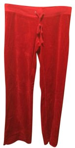 Juicy Couture Relaxed Pants Red
