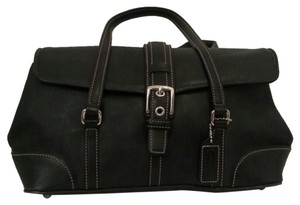 Coach Silver Hardware Chic Tote in Black