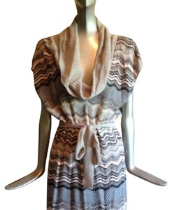 Missoni short dress Multi Colored Metallic on Tradesy