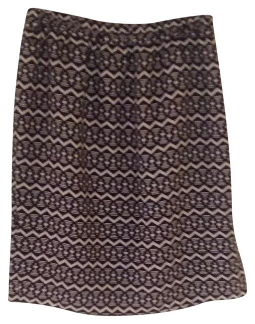 Ann Taylor LOFT Skirt Black, Bone