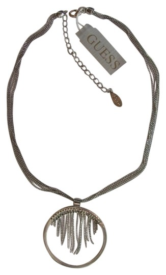 Guess FINE MESH CHAINS WITH CIRCLE