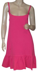 Juicy Couture short dress Hot Pink Ruffle Mini on Tradesy