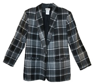 Coldwater Creek Plaid Suit Jacket