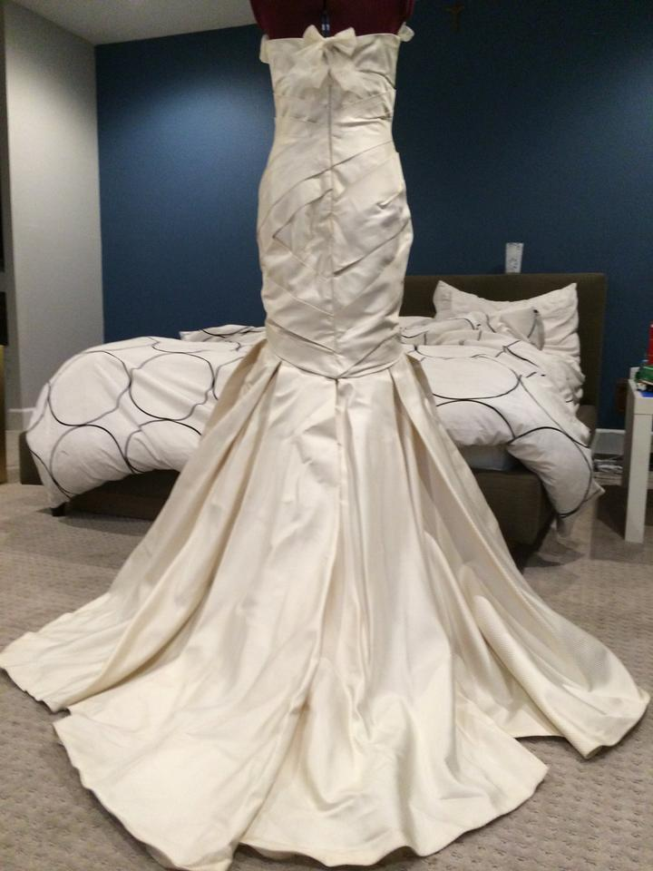 Mermaid Style Wedding Dresses Vera Wang : Vera wang mermaid trumpet style wedding dress tradesy weddings