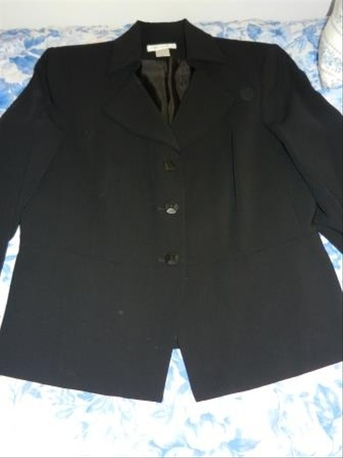Worthington Worthingtopn 2 Piece Black Skirt Suit