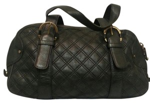 Michael Kors Quilted Satchel in black