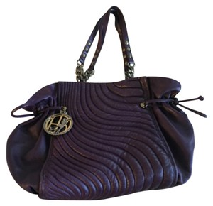 Henri Bendel Tote in Dark Purple