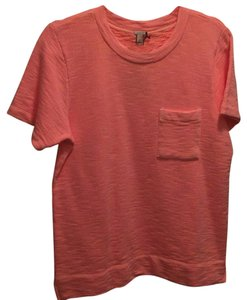 J.Crew T Shirt Orange Sherbert