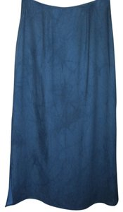 Carole Little Maxi Skirt blue