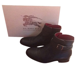 Burberry Bootie Ankle Black Boots
