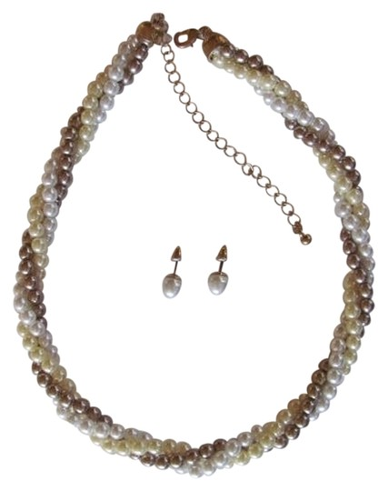 Preload https://item5.tradesy.com/images/avon-white-yellow-tan-new-in-box-set-3-color-pearls-necklace-768049-0-0.jpg?width=440&height=440