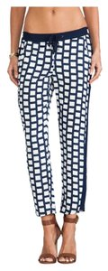 Splendid Relaxed Pants Navy and white
