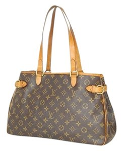 Louis Vuitton Louies Leather Shoulder Bag