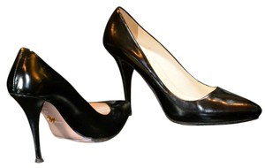 Prada Patent Leather Black Pumps