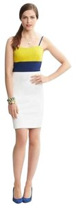 Banana Republic Color-blocking Knit Date Night Stretchy Dress