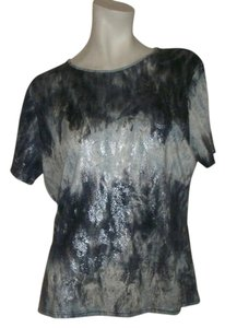 Lynn Ritchie T Shirt Blue, Grey
