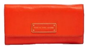 Marc by Marc Jacobs MARC BY MARC JACOBS Wallet - Too Hot To Handle Long Tri-Fold Continental Red New With Tags