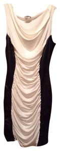 Joyce Leslie Long Leather Sheer Bebe Guess Express Dress