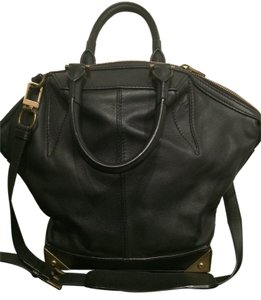 Alexander Wang Leather Satchel in Black